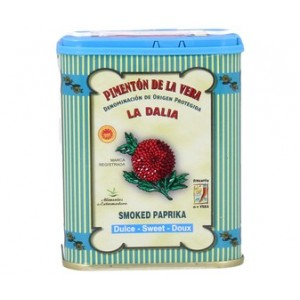 Mild Paprika-Pimenton  75 Grs