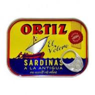 Sardinillas a la antigua ortiz 100 Grs