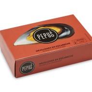 Mejillones en escabeche Pepus