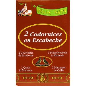 2 Codornices en escabèche Felix soto 425 Grs