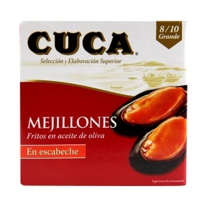 Mussels in escabeche 8-10 pieces Cuca