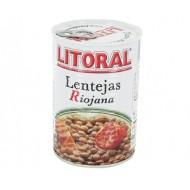 Lentilles à la Riojana 430 Grs - Litoral
