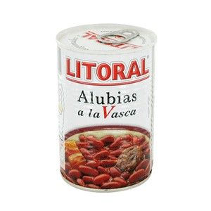 Basque style red  beans stew 430 Grs - Litoral