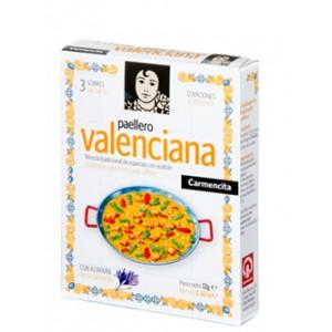 Paella valenciana spices mix 3x4 Grs - Carmencita