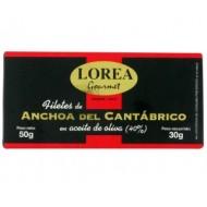 Anchoas del Cantabrico 30 Grs - Lorea
