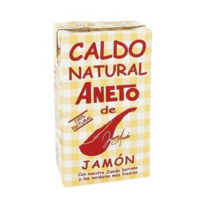 Caldo de Jamon 1 L - Aneto