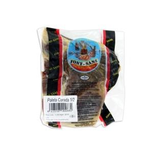 Boneless curred Serrano Ham shoulder 1,2 Kg - Font sans