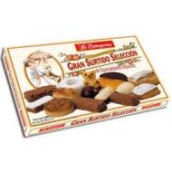 Assortiment de biscuits de Noël 650 Grs - La Estepeña