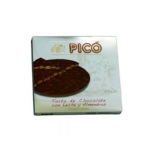 Turron of chocolate and almonds 200 grs - Pico