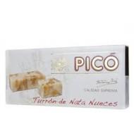 Turrón de nata y nueces 200 Grs - Pico