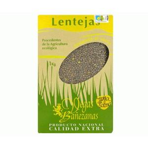 Organic lentils Pardina 1 Kg - Vegas Bañezanas