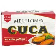 Mejillones salsa Gallega 65 Grs - Cuca