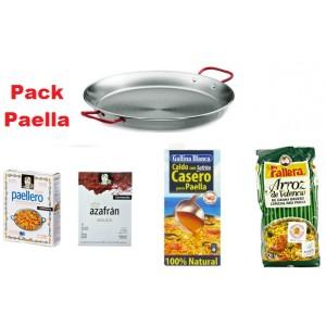Pack Paella para 4 personas